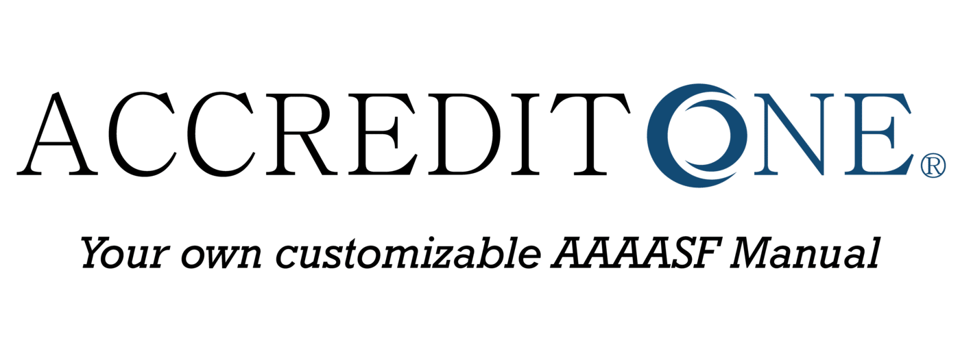 accredit one